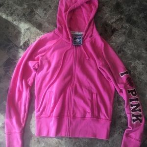 VS PINK. Size small hoodie/jacket